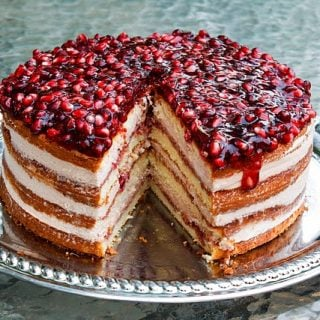 The Ultimate Pomegranate Mousse Cake Recipe