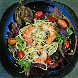 Its Summer Time and The Living Is Easy……. Enjoy This Wonderful Grilled Shrimp Salad