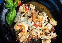 Zucchini Pops and Steak Scampi