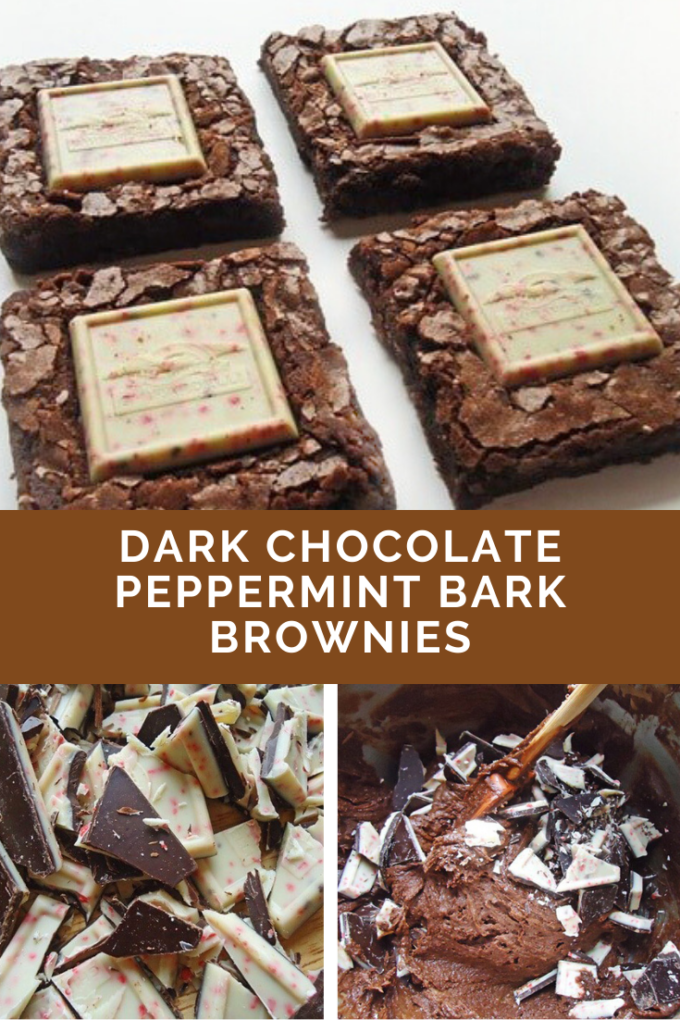 Pinterest image for brownies