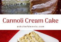 Pinterest Cannoli Cream Cake