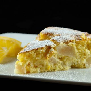 It's A Vintage Recipe Swap and Redo With My Italian Lemon-Pear Cake