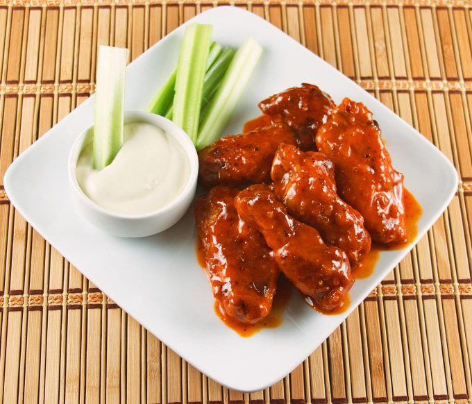 The Most Ah Mazing Buffalo Chicken Wings Recipe