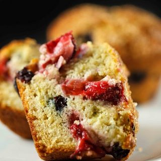 It's All About Greek Yogurt, with Very Berry Muffins and Pasta Primavera with  Ask Chef Dennis