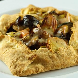 Chicken and Vegetable Crostata – Vintage Recipe Swap