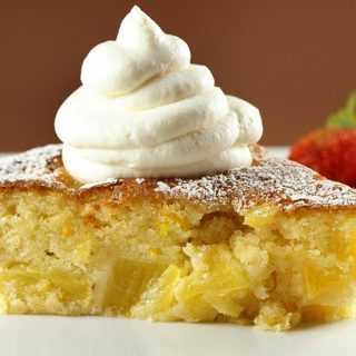 Pineapple Butter Cake and Ask Chef Dennis