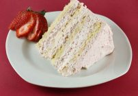 Italian Strawberry Cream Cake and Ask Chef Dennis