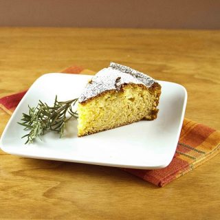 Orange-Rosemary Olive Oil Cake