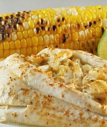 restaurant style stuffed flounder