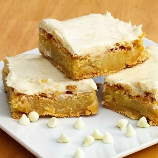 White Chocolate Vanilla Bean Blondies