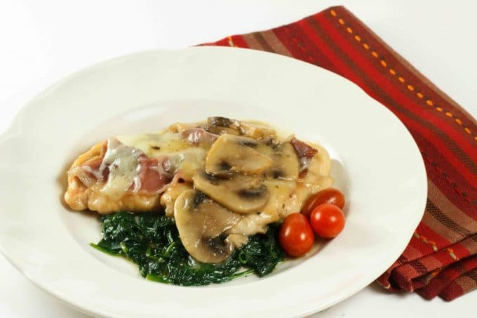 Chicken Saltimbocca In My Restaurant Kitchen - A Culinary Journey With ...