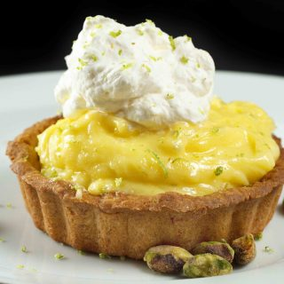 Key Lime Curd Tartlette