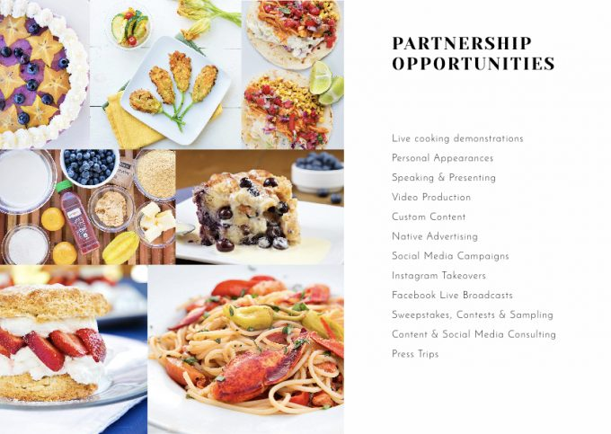Chef Dennis Media Kit