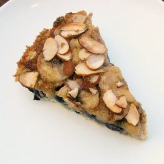 slice of oatmeal breakfast cake
