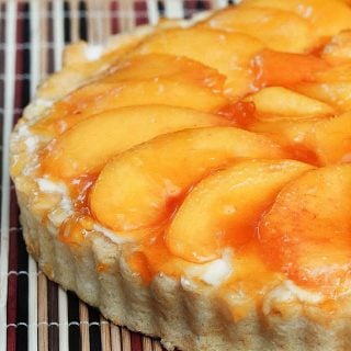 No Bake Peach Tart – A Summertime Treat