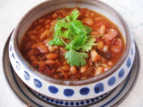 Ranch Style Beans or Frijoles Rancheros