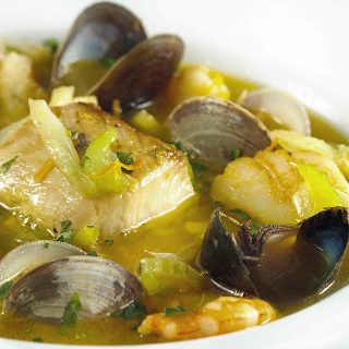 Bouillabaisse, A Provincial French Seafood Stew