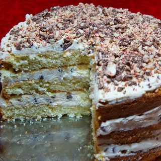 Oh Cannoli Night……It's a Cannoli Cream Cake