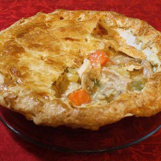 Thanksgiving Leftovers-Part One : Turkey Pot Pie