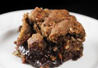 Black Bottom praline pecan bars
