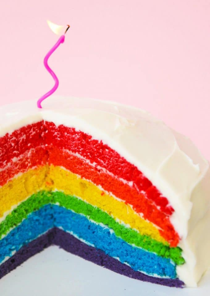 Rainbow Layer Cake with Pip & Ebby – Messy Kitchen
