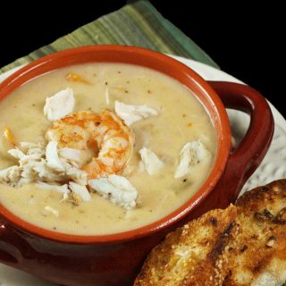 Shrimp and Crab Chowder for Our Vintage Recipe Swap
