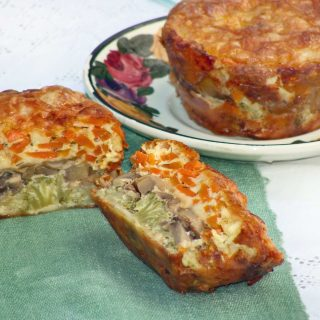 Layered Veggie Muffins with Cooking's Good