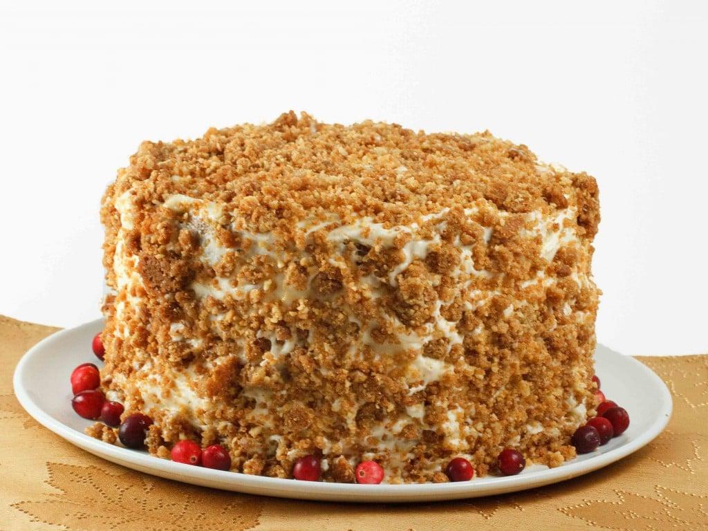 Pumpkin Crunch Cake Recipe - Ask Chef Dennis