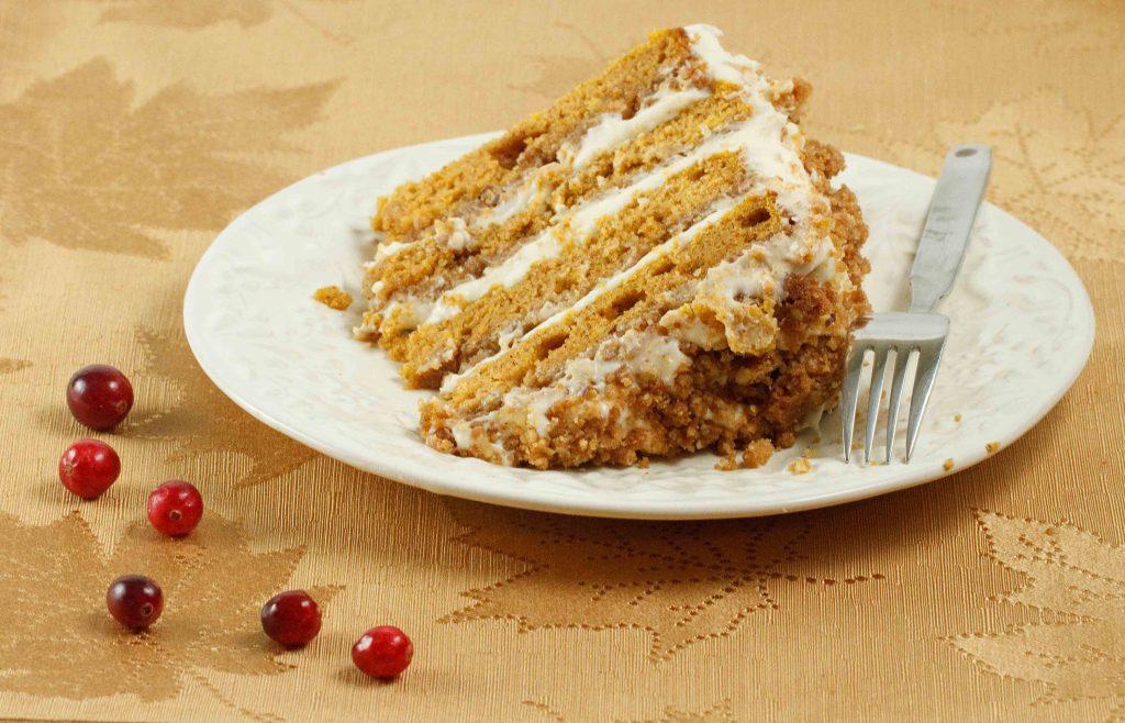 Pumpkin Crunch Cake Recipe — Dishmaps