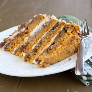 The Original Pumpkin Crunch Cake with Cream Cheese Frosting – My Holiday Tradition