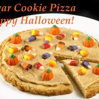 Sugar Cookie Pizza – Happy Halloween!