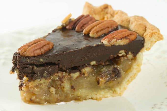 What a beautiful pie. Pecan pie is always a classic tradition in my ...