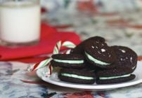 Peppermint Oreo's with The Baker Chick