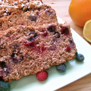 Berry Citrus Bread with Eat. Drink. Love.