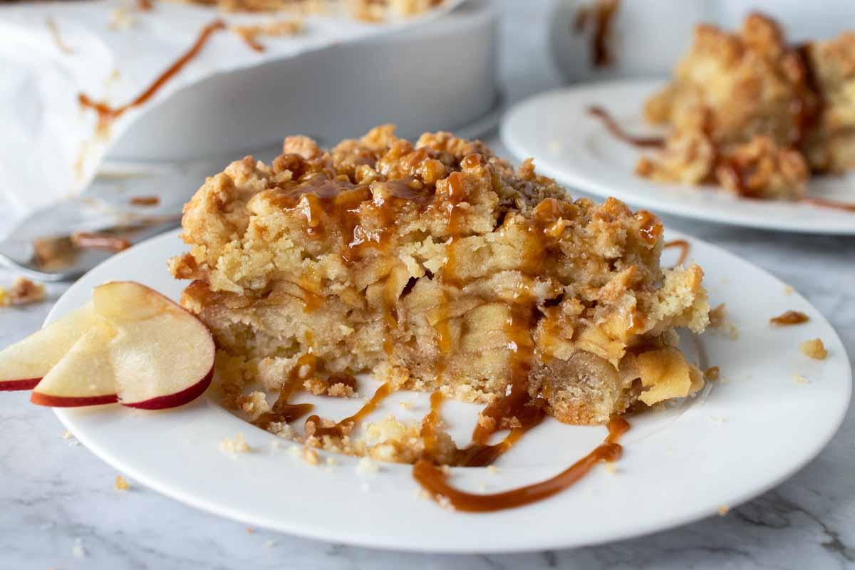 How to make a Caramel Apple Torte - Chef Dennis