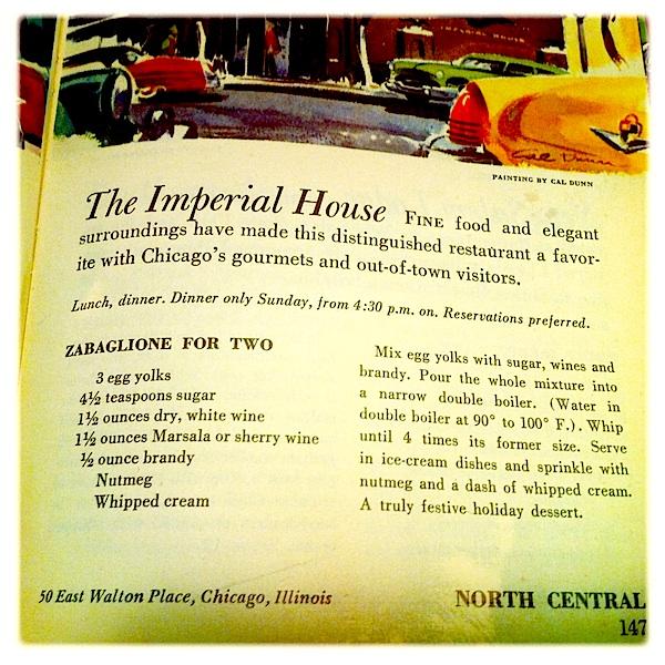 Imperial House Zabaglione