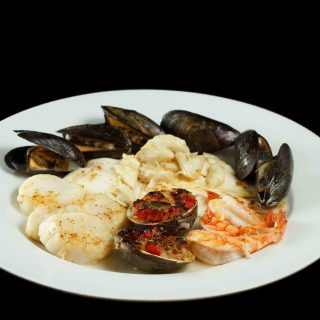 Broiled Seafood Combination – In My Restaurant Kitchen