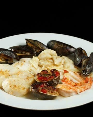 Broiled Seafood Combination