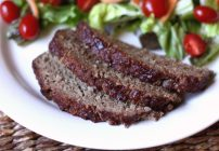 Meatloaf with Balsamic Glaze by Barefeet In The KItchen