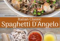 pinterest image for spaghetti d'angelo