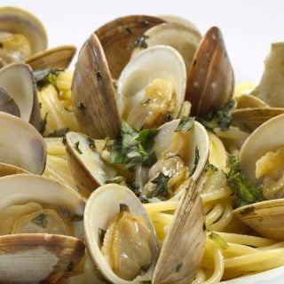 Linguine with Clams and Ask Chef Dennis