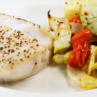 Oven Roasted Golden Tilefish