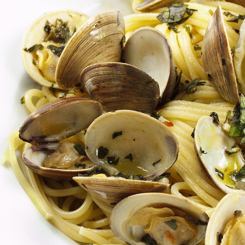 Italian, clam sauce