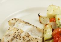 pinterest image for roasted tilefish
