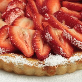 Strawberry & Ricotta Crostata