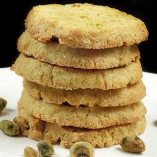 Pistachio Cornmeal Butter Cookie Recipe