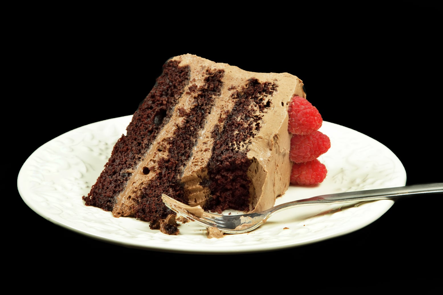 Cake With Chocolate Mousse : Chocolate Mousse Cake with Chocolate Mouse Mascarpone Frosting