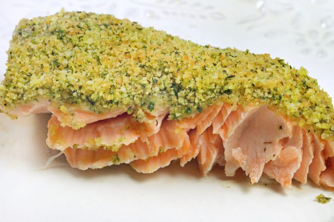 Macha Green Tea Salmon