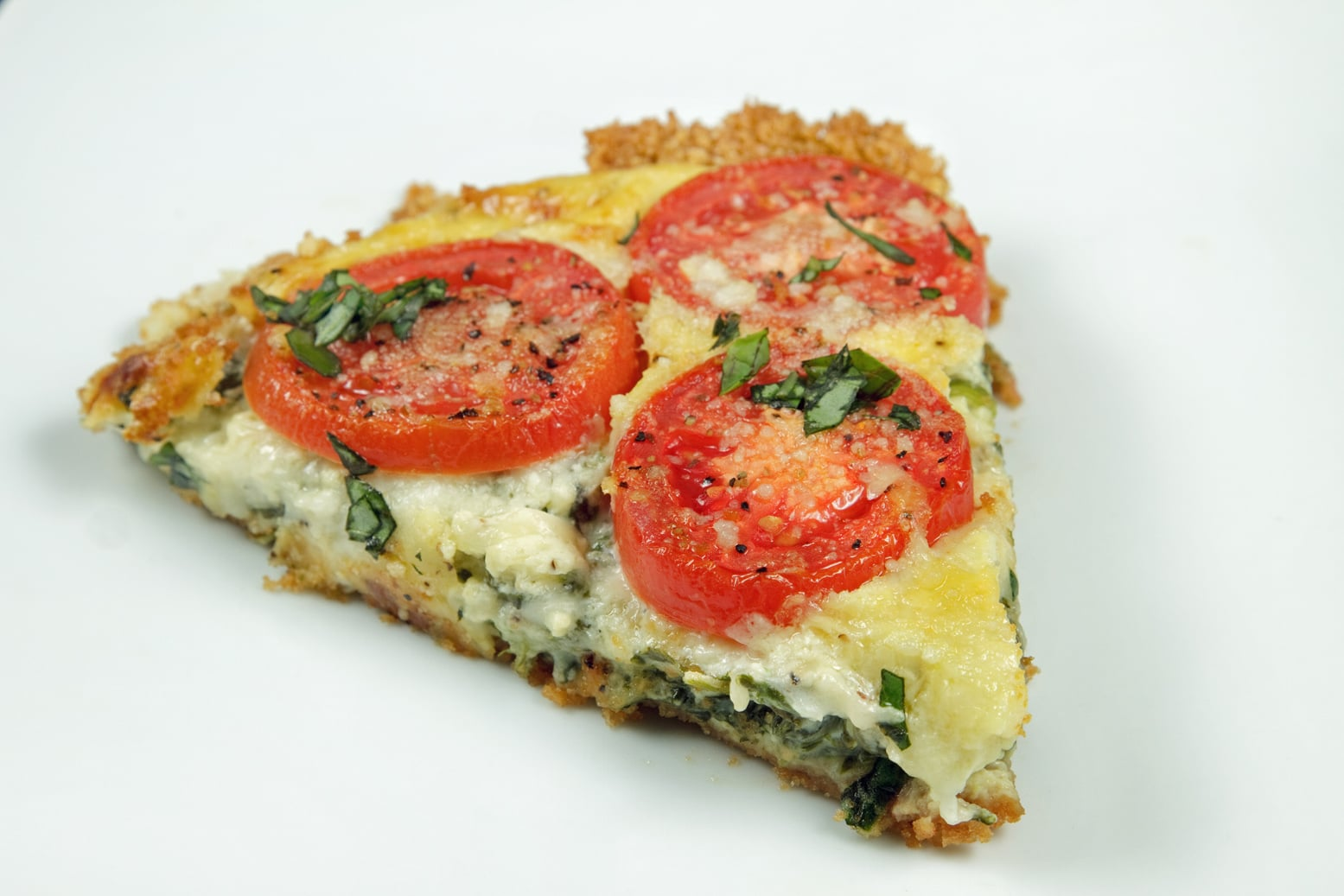 Spinach-Tomato Tart my Guest Post on Cooking's Good Vegetarian Cafe