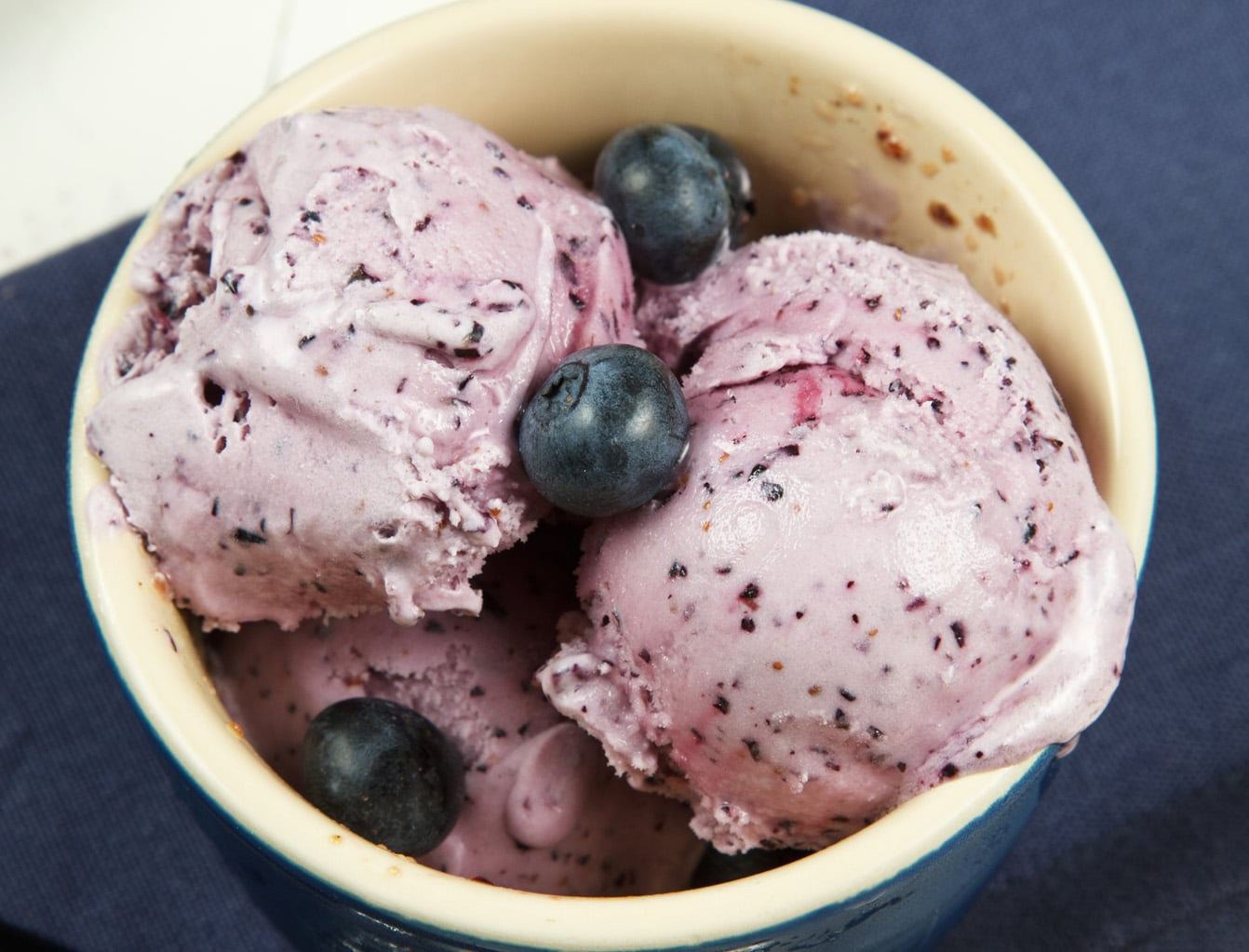 Very Cherry and Blueberry Cheesecake Gelato's for National Ice Cream ...